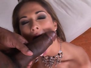 Creamed and analled by a big black dick
