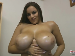 Terri Jane Boobs Antics