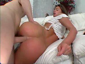 Hot babe Naomi gets her ass stuffed with hard cock