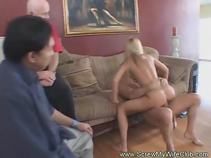 Housewife Proves Her Swinger Status