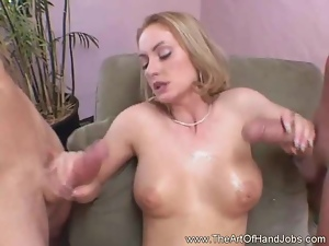 Jerk Job From Amateur Babe