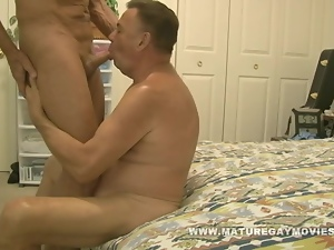 Fit Daddy Fuck His Chubby Friend Senseless