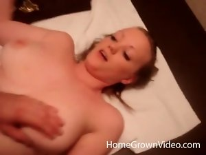 Beauty with big tits fucked in homemade porn