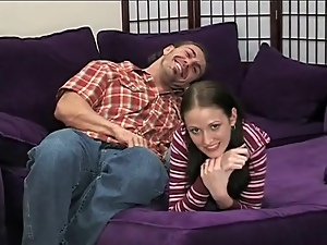 Adorable Hailey Young 69 and cock ride