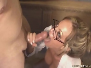 Fuck This Bad MILF Secretary