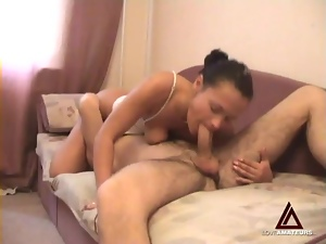 Giving each other oral and having homemade sex