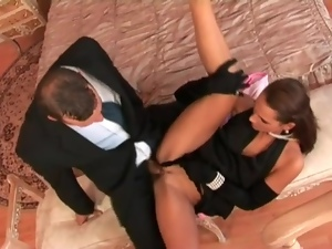 Good sex with classy clothed women