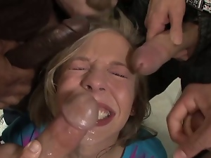 Chastity lynn detention blowbang