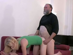 Dad fucks his son's girlfriend