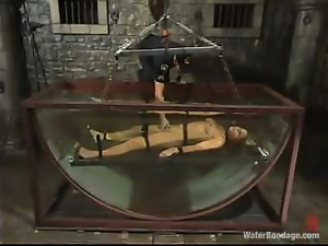 Prison guard punishes that petite blond convict