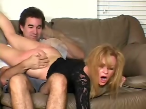 Hiot milf's spanked by her kinky husband