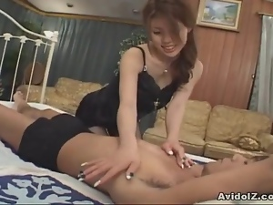 Japanese bimbo Anna Shinagawa gets boned rough uncensored