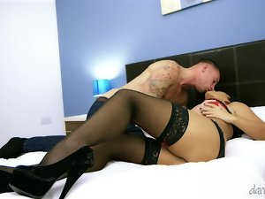 Perfect Tara Blows has sensual sex in a bedroom