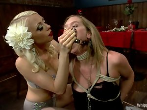 Blonde Star gets humiliated in a cafe by Lorelei Lee