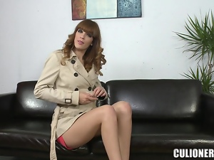 Gorgeous Carol Vega loves fucking with her condom on