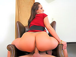 Hard anal with slutty pornstar