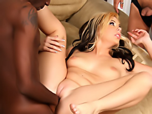 Wife enjoys thick black cock