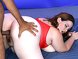 Fat interracial sex