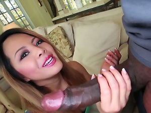 Petite Amateur Asian Fucked By Huge Black