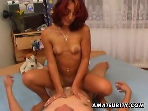 Amateur girlfriend getting fucked and facialized