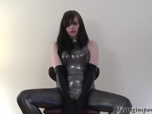 Teasing you in rubber