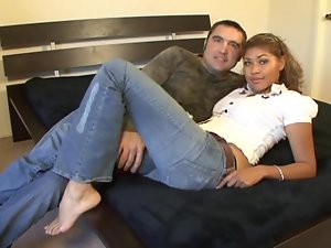 Hot couple showing how they love to fuck