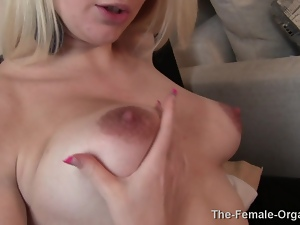 Real MILF Lactates and Masturbates to Orgasm