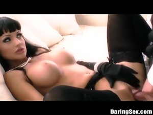 Gorgeous Model Exploring Her Fantasies