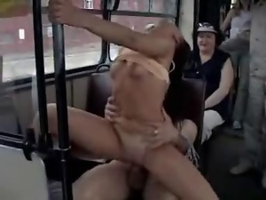 Public Sex In Crowded Bus