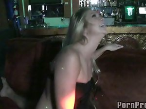 Party girls in slutty clothes in amazing CFNM action