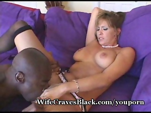 Naughty wife loves black cock