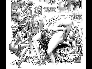 Masterpiece of Bondage Sex Orgy Comic