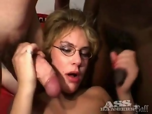 Slutty assholes fucked and cunts fisted lustily