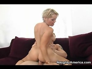Watch slutty milf ass while she bounces on cock