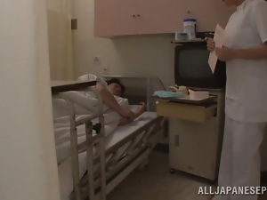 Naughty Busty Japanese Nurse Getting Fucked by Patient