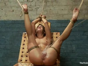 Superb Adriana Chechik gets toyed and fingered in both holes