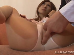 Lustful Reira Aisaki gets her ass licked and fucked