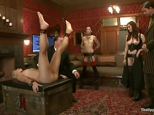 Dylan Ryan enjoys humiliation and punishment in BDSM vid