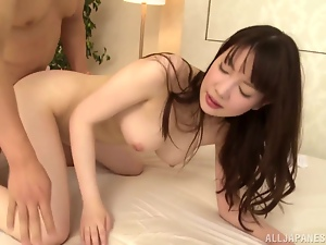 Sensual Japanese girl wants that huge cock