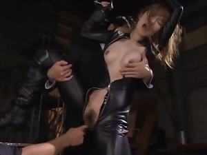 Ninja girl Miku Ohashi  gets caught and tortured