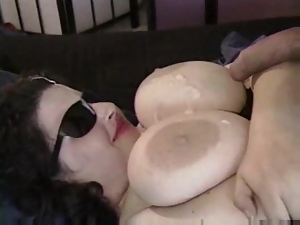 Big Ass Brunette Alya is a fat nympho always in search of a cock
