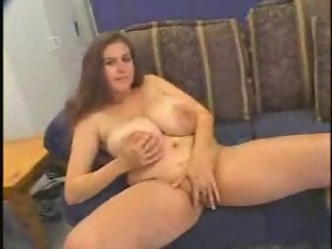 Busty honey needs nothing but a thick cock