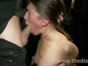 Vai fucked by strangers till she squirts