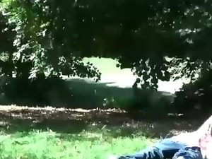 French dudes suck cock in park