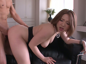 alice ozawa gives a japan blowjob and fucks two guys. Part 2