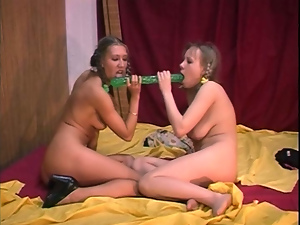 Classic lesbians goes all the way. Part 2