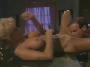 Hardcore sex with a hot milf on the bar stool