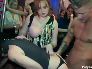 Girls in their club clothes get fucked hardcore