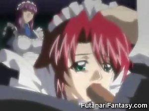 Dirty Hentai Futanari Sex!