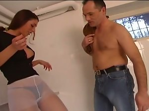 Cock Torture Scenes With A Foot...